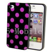 iPhone 4 Gel Case Purple