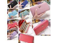 Fashion Lady Women Long Card Holder Case Leather Clutch Wallet Purse Handbag