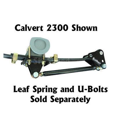 Leaf Spring Traction Bars - Calvert Racing 2380 CalTrac Leaf Spring Traction Bars - 1968-1979 Nova/X-Body