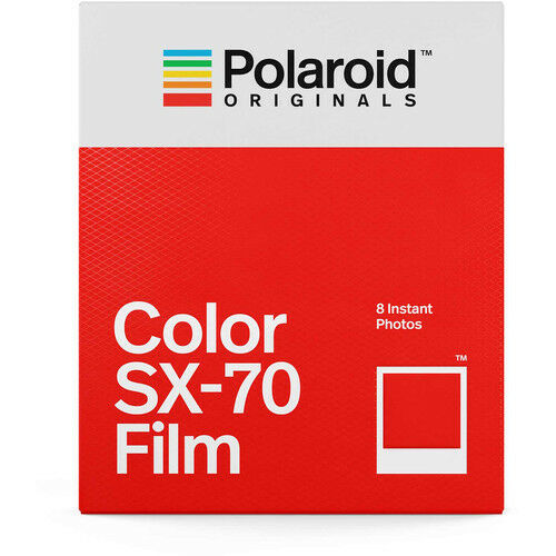 Polaroid Originals 4676 Color Instant Film For SX-70 Type Cameras