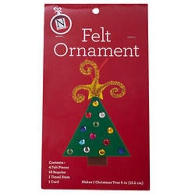 Holiday Felt Craft Kit: Make Your Own Ornament