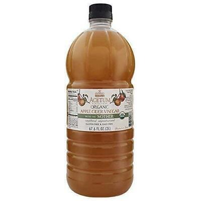 Sidra de Manzana 2L con la Madre Orgánico Vinagre Acetum