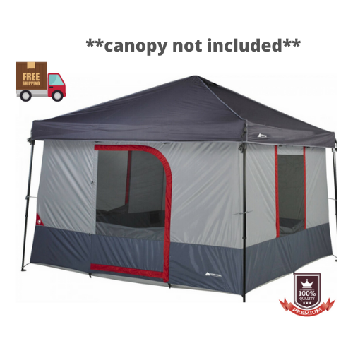 Tent Camping Waterproof 6-Person Instant Outdoor Cabin Hiking Family Shelter 10'