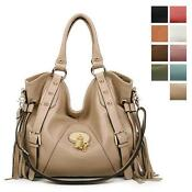 Large Genuine Leather Handbags