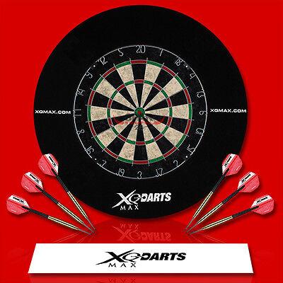 Dart Turnier Set Dartscheibe Dartpfeile Wurflinie Surround Steeldarts Dartboard