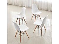Brand new White / Grey chairs