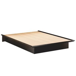 Step One Contemporary Queen Bed - Black Brand new in Box