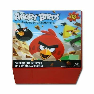- Rovio Angry Birds 3D Puzzle 150 Piece Lenticular 12