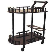 Wood Tea Cart