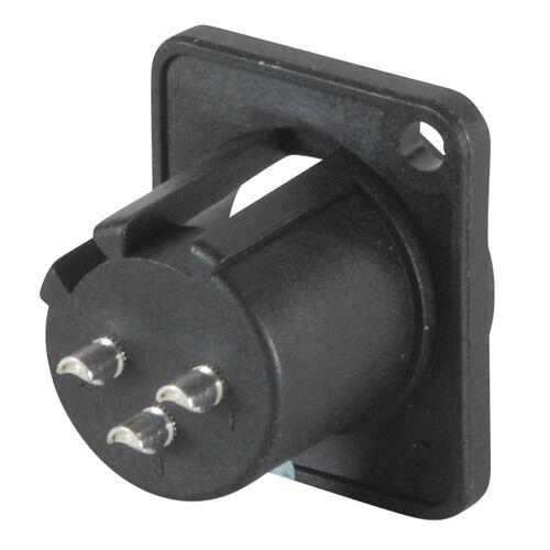 XLR 10 pieces NEUTRIK NC3MDV PLUG PANEL PCB 3POLE