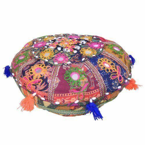 Cuscino indiano decorativo meditazione yoga 40 cm accessori decorazione casa