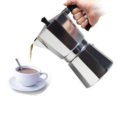 1/3/6/9/12 Cup Coffee Maker Pot Moka Espresso Percolator Bialetti style 2018