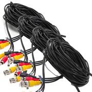 Security Camera Audio Video Power Cable