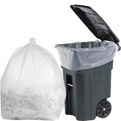 PlasticMill 95 Gallon, 1.5 Mil, 61x68, Garbage Bags / Trash