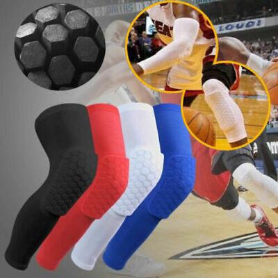 Sports Knee Pads Basketball Leg Gear Crashproof Antislip Protector M/L/XL/XXL sm