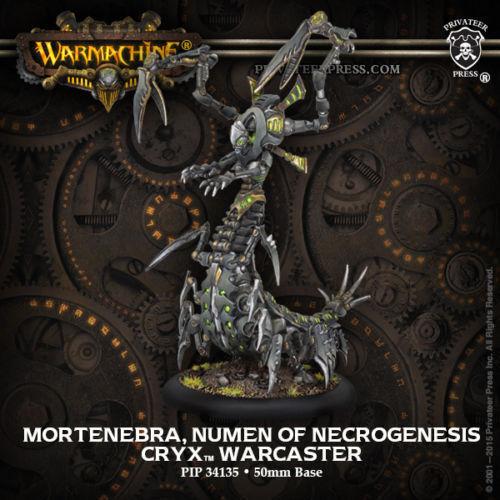 Warmachine Cryx Mortenebra Numen of Necrogenesis PIP34135 Privateer Press