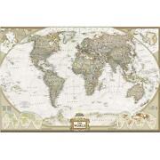 Vintage World Map Poster | eBay
