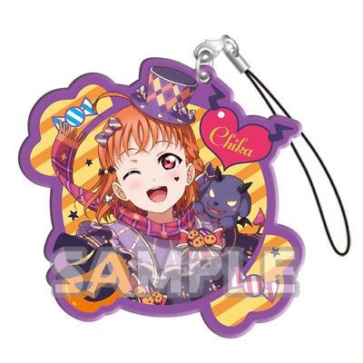 Love Live Sunshine Chika Halloween Acrylic Phone Strap Anime Manga - Love Live Halloween