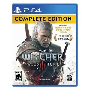 The witcher 3 - complete edition - neuf non deballe