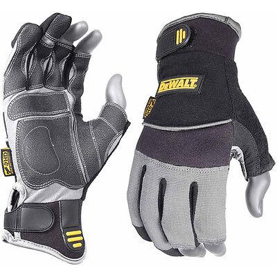 DEWALT Framer Gloves 3 Finger Synthetic Leather, XL