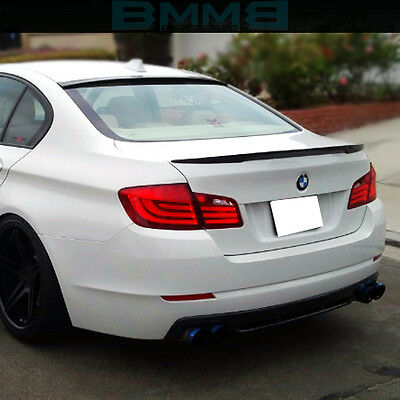 Painted Roof Spoiler + P-Type Trunk For BMW F10 528i 535i 550i M5 5-Series