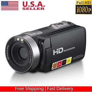 FULL-HD-1080P-24MP-3-0-034-LCD-Touch-Screen-Digital-Video-Camera-DV-Camcorder