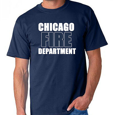 Chicago Fire Department Tv Show Dvd Custom Tees Available