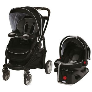 Graco Car Seat and Stroller - Click and Connect