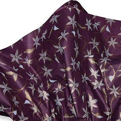 Deep Burgundy / Purple  JASMINE Tissue Paper # 309 ~ 10 Large Sheets - Purple Tissue Paper