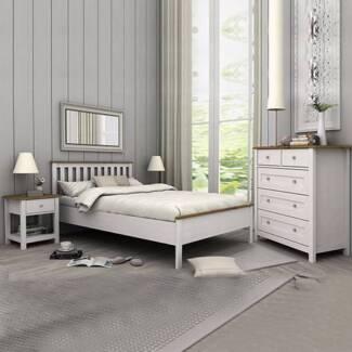 Classic & Elegant Queen Bedroom Suite Brand NEW