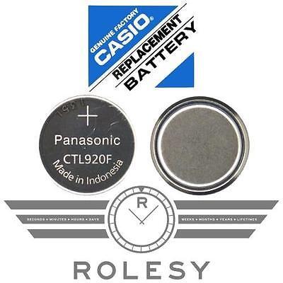 Panasonic Ctl920 Ctl920f Battery Casio G Shock Edifice Wave Ceptor Tough Solar