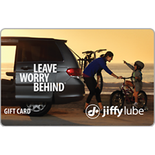 Jiffy Lube Gift Card $100 Value, Only $80.50! Free Shipping!