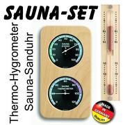 Sauna Sanduhr