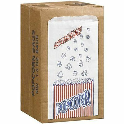 Great Northern Popcorn Company 1-12-ounce Duro Bag Popcorn Bags Case Of 500