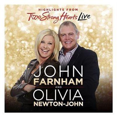 JOHN FARNHAM/OLIVIA NEWTON-JOHN TWO STRONG HEARTS LIVE CD NEW  (Olivia Newton John Live Cd)
