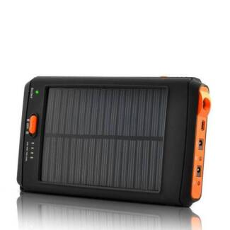 Solar Charger High Capacity Battery mAh Torch USB Computer iPad St Morris Norwood Area Preview
