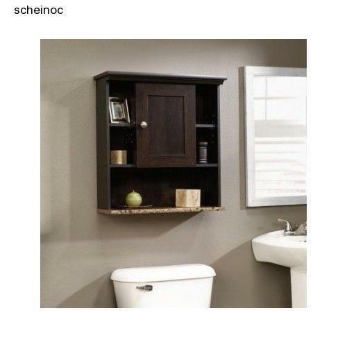 wall mount bathroom cabinet ebay