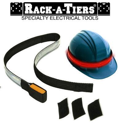Rack-a-tiers Glow Safe 360 Led Lighted Helmet Headband Safety Hish Visability