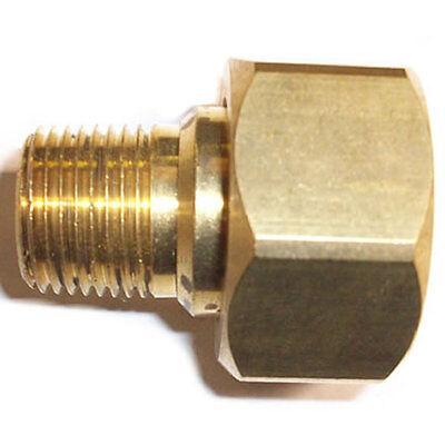Cam spray 3 8 npt male thread to 3 4 female garden hose thread adapter ebay for Male to male garden hose adapter
