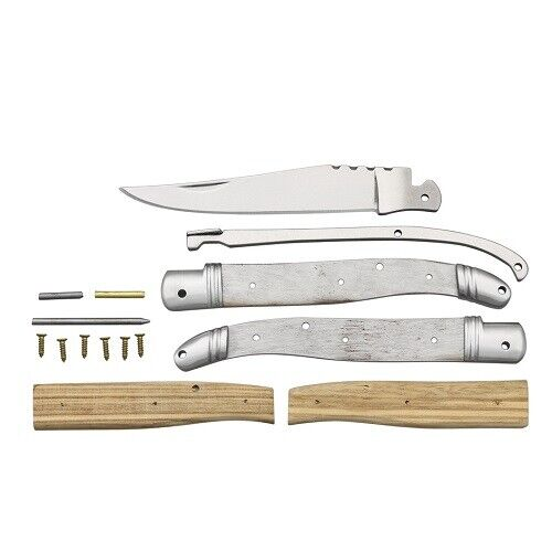 "Knife Making Kit - Make Your Own 4 5/8"" Closed Folding Knife"