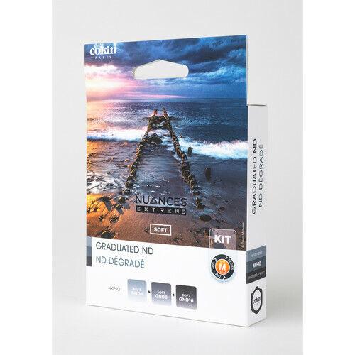 Cokin Nuances Extreme Soft Edge Neutral Density Graduated Filter Kit - P Series
