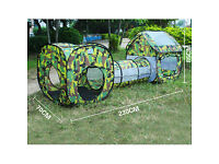 3 in 1 Camouflage Outdoor Children Tent
