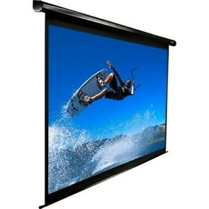 MOTORIZED PROJECTION SCREEN 128 INCHES!