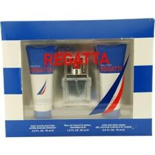 Nautica Regatta Gift Set (Edt Spray & Post Shave Soother & Hair & Body Wash)