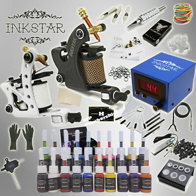 - Complete Tattoo Kit Professional Inkstar 2 Machine JOURNEYMAN Set GUN 20 Ink