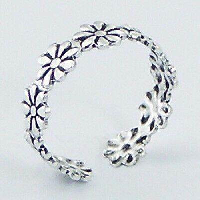 MIXED DESIGNS- Wholesale bulk lot 10 x toe ring 925 sterling silver