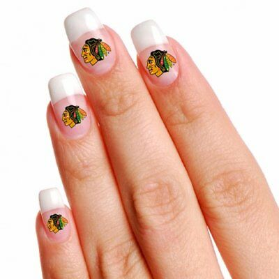 Chicago Blackhawks 4 Pack Nail Tattoos by Wincraft - Blackhawks Tattoo
