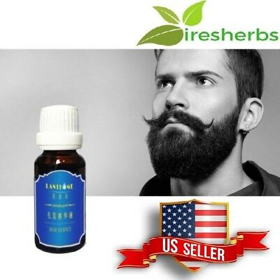 MUSTACHE BEARD SIDEBURNS EYEBROW EYELASH GROWTH LIQUID HAIR FAST GROW GROWTH OIL - Eyelash Hair Growth