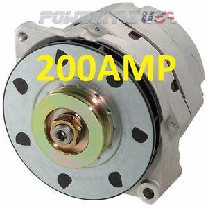 200 Amp Alternator: Charging & Starting Systems | eBay  Amp Alternator To Battery Wire Harness on