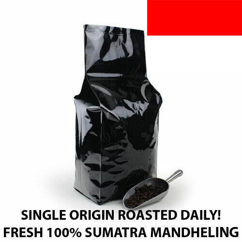 2, 5, 10 lb Indonesia Sumatra Mandheling Coffee Roasted Fresh Daily in USA !